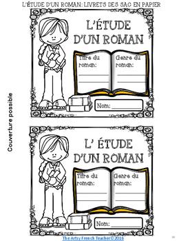LES STRATÉGIES DE LECTURE ET L'ÉTUDE D'UN ROMAN: {LIVRET DES SACS EN PAPIER}