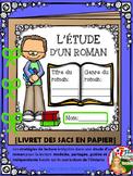 LES STRATÉGIES DE LECTURE ET L'ÉTUDE D'UN ROMAN: {LIVRET D