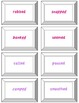 """UNI: 3 Sounds of -ed Game (""""ed"""", """"d"""" & """"t"""")- Orton Gillingham Phonics/Reading"""