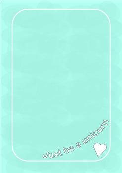 UNICORN Paper A4 size