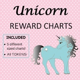 UNICORN THEMED REWARD CHARTS