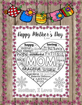 UNIQUE CARD/BOOKLET FOR MOTHER'S DAY - DIFFERENT VERSIONS-23 PAGES