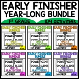 UNIT 1-6 YEAR LONG EARLY FINISHER BUNDLE