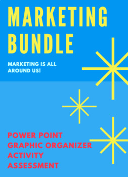 UNIT 1 CH 1 MARKETING BUNDLE - Marketing is All Around Us