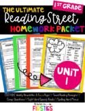 UNIT 1 Reading Street Homework 1st Grade