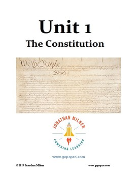 UNIT 1 - The Constitution - Preview