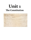 UNIT 1 - The Constitution