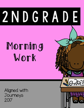 UNIT 1 - Week 1 - Second Grade Daily Morning Work - Aligned with Journeys 2017