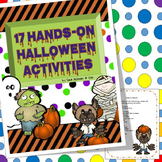 Halloween Hands On Activities for Preschool