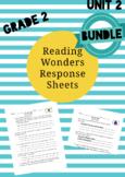 UNIT 2 BUNDLE:  Reading Wonders 2nd Grade Response Pages