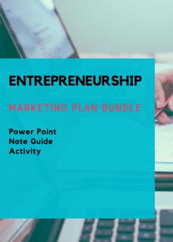 UNIT 3 CH 10 ENTREPRENEURSHIP BUNDLE – The Marketing Plan