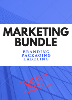 UNIT 3 CH 31 MARKETING BUNDLE – Branding, Packaging, and Labeling
