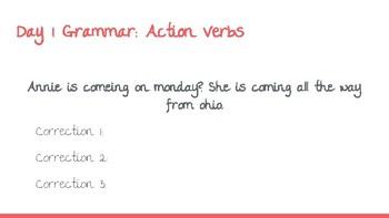 UNIT 3: McGraw-Hill Wonders Vocabulary and Grammar Mini-Lessons