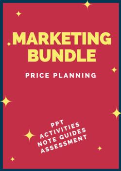 UNIT 4 CH 25 MARKETING BUNDLE – Price Planning