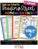 UNIT 4 Reading Street Homework 1st Grade