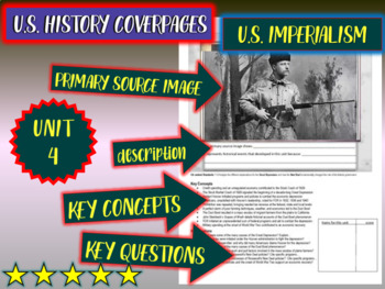 UNIT 4: U.S. IMPERIALISM - a U.S. History coverpage to frame each unit