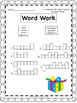 UNIT 4 Word Work  for Reading Street - Gr. 1