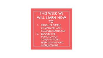 UNIT 5: McGraw-Hill Wonders Vocabulary and Grammar Mini-Lessons