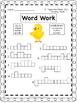 UNIT 5 Word Work  for Reading Street - Gr. 1