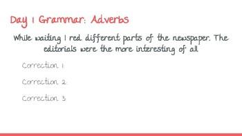 UNIT 6: McGraw-Hill Wonders Vocabulary and Grammar Mini-Lessons