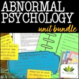 Abnormal Psychology *UNIT BUNDLE*