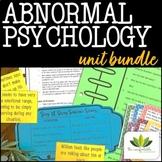 Abnormal Psychology *UNIT BUNDLE*