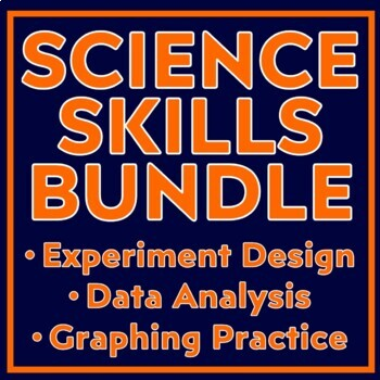 UNIT BUNDLE - All Resources to Teach Experimentation, Data Analysis & Graphing