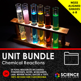 UNIT BUNDLE - Chemical Reactions and Rates of Reaction - D