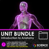 UNIT BUNDLE - Introduction to Anatomy Mini Unit (HS-LS1) -