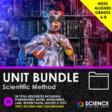UNIT BUNDLE - Scientific Method & Experimental Design - Di