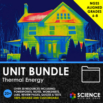 UNIT BUNDLE - Thermal Energy, Heat, and Temperature