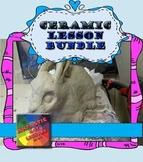 Ceramics: Introduction To Ceramics - Middle School & Secondary School - BUNDLE