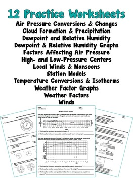 UNIT PLAN Weather Factors NO PREP