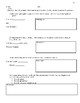 UNIT RATE WORKSHEET