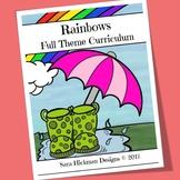 Rainbow Preschool Theme: Full Week Curriculum