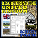 UNITED KINGDOM: Discovering the United Kingdom Activity Pack