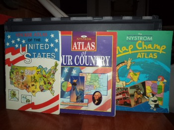 UNITED STATES ATLAS   (SET OF 3)
