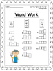 UNITS 1-5 Word Work for Reading Street - Gr. 1 (ALL YEAR)