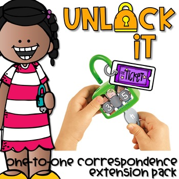 UNLOCK IT ONE-to-ONE CORRESPONDENCE EXTENSION PACK