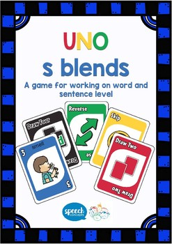 UNO - Articulation Game for  S Blends