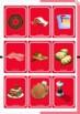 UNO DE LA COMIDA (The food UNO playing cards)