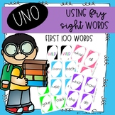 UNO First 100 Fry Words
