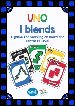 UNO - Articulation Game for L Blends