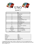 Present Tense Verbs Spanish: UNO