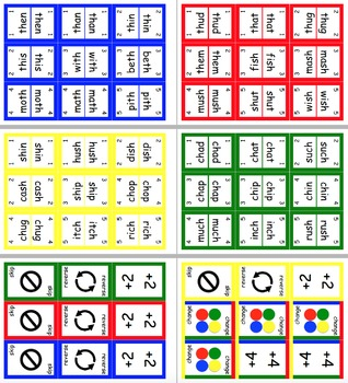 BULK - Contains 13 UNO Style Literacy Word Card Games