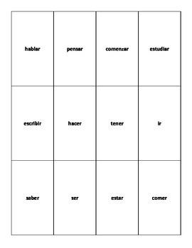 UNO-type Verb Game (presente del subjuntivo)