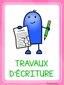 UNOFFICIAL adaptation of 5 au quotidien FREEBIE in French
