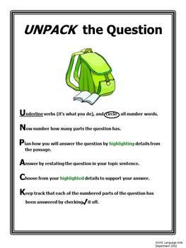 UNPACK the Question