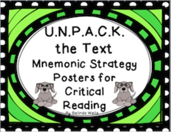 U.N.P.A.C.K. the Text-Mnemonic Strategy Posters for Critical Reading