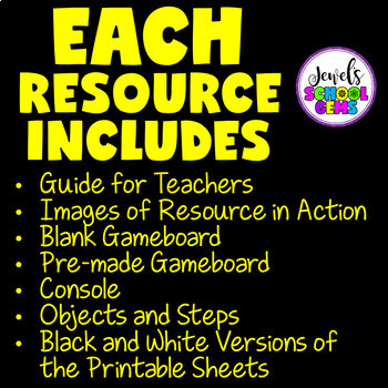 UNPLUGGED CODING ACTIVITIES BUNDLE